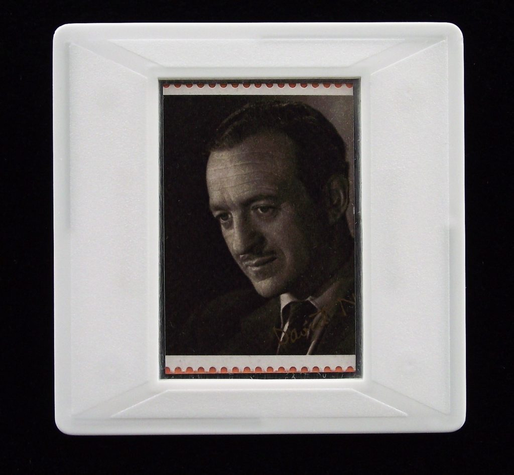David Niven brooch (from photo by Cornell Lucas)