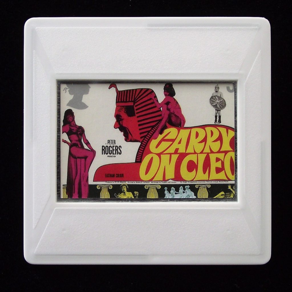 Carry on Cleo brooch - Stamp Style movie brooch