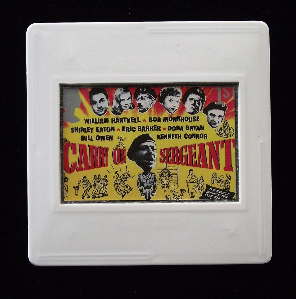 Carry On Sergeant brooch - Stamp Style movie brooches