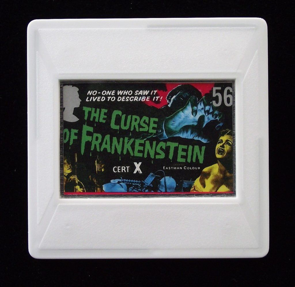 The Curse of Frankenstein movie brooch