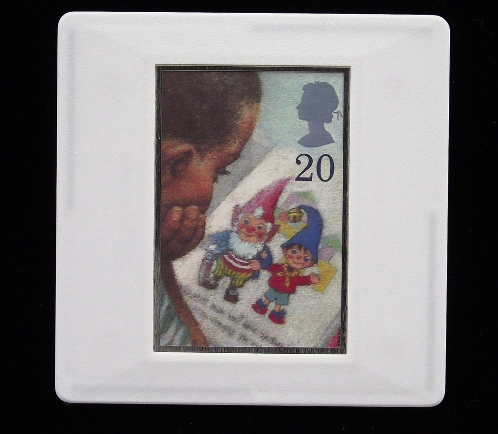 Noddy and Big Ears brooch  - Enid Blyton badge