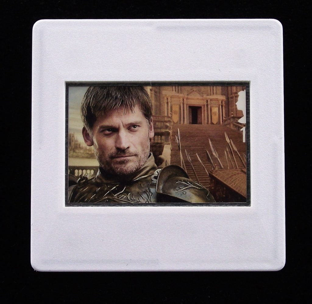 Jaime Lannister - Game of Thrones - Stamp Style badge