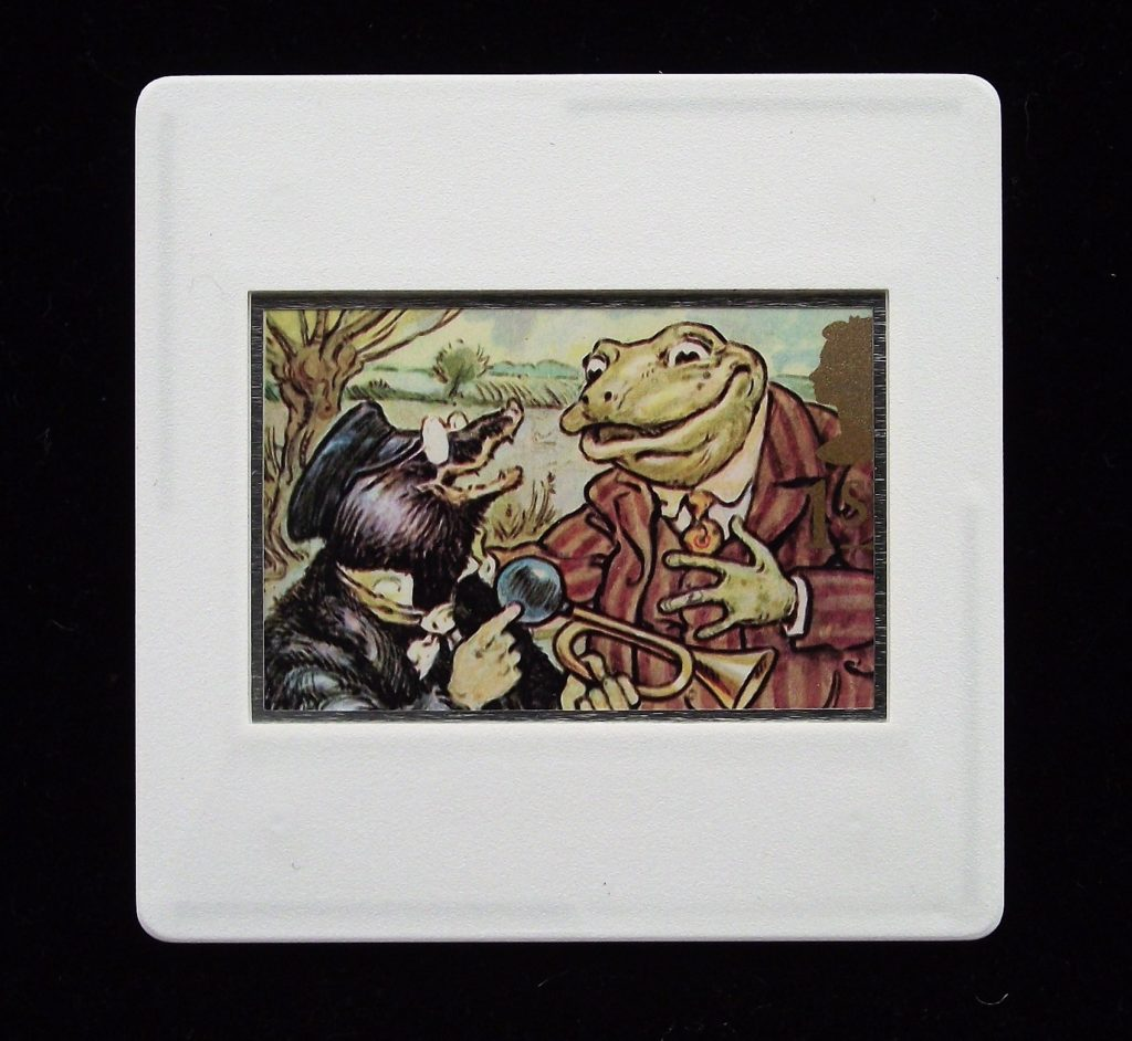 The Wind in the Willows brooch