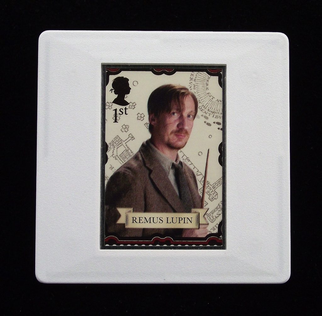 Remus Lupin - Harry Potter - Stamp Style badge
