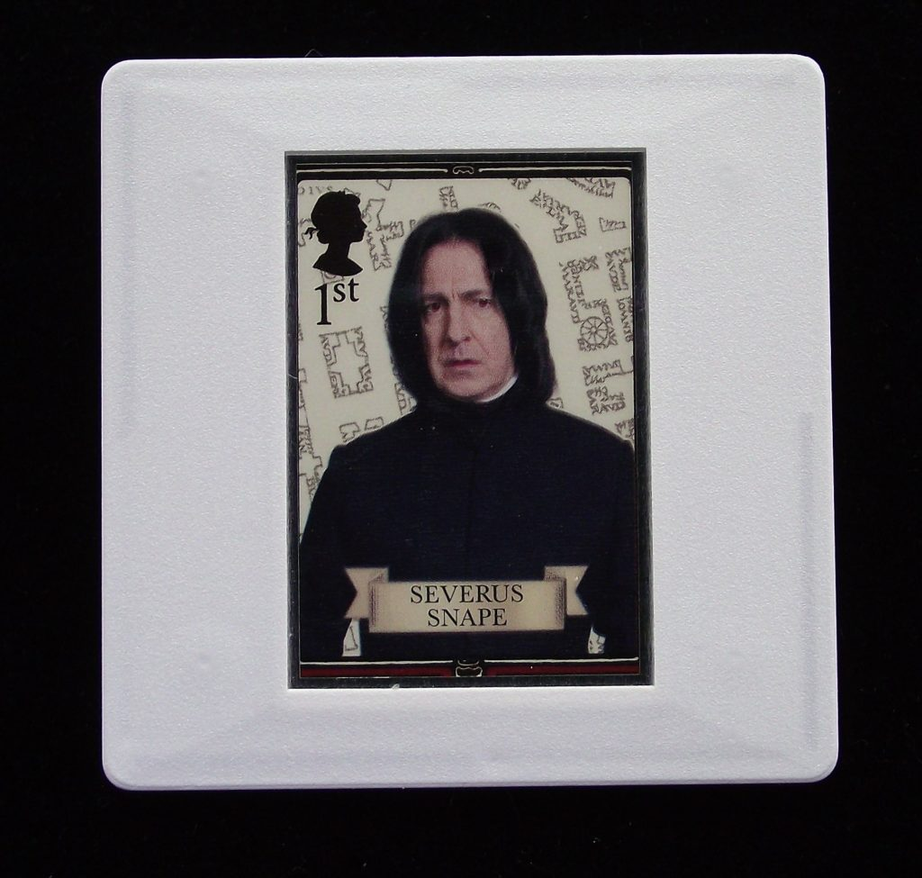 Severus Snape - Harry Potter - Stamp Style badges and brooches