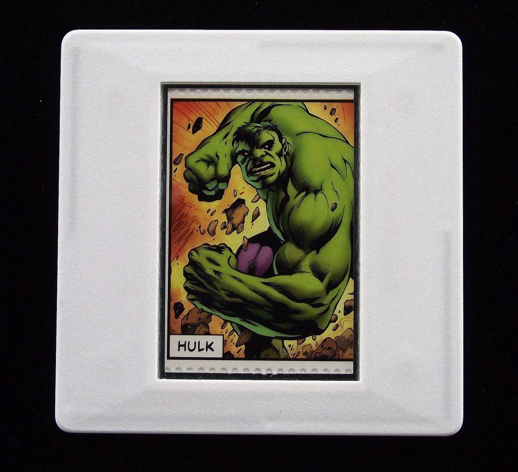Hulk - Marvel Comics - Stamp Style badge
