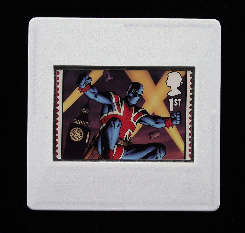 Union Jack - Marvel Comics - Stamp Style badge