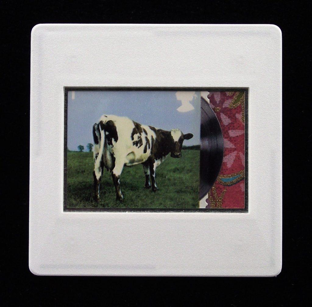 Atom Heart Mother album cover brooch  - Pink Floyd