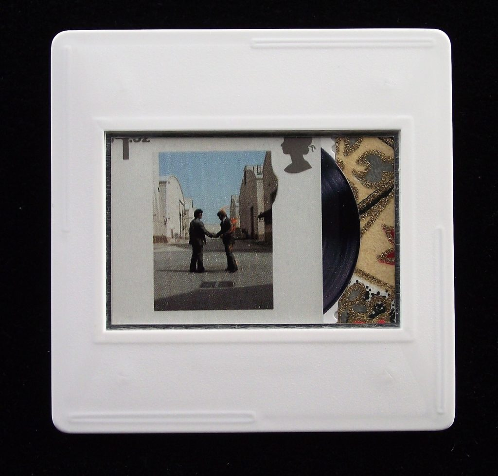 Wish You Were Here - Pink Floyd album cover brooch