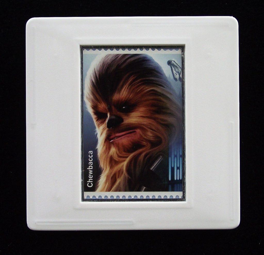 Chewbacca - Star Wars - Stamp Style badge