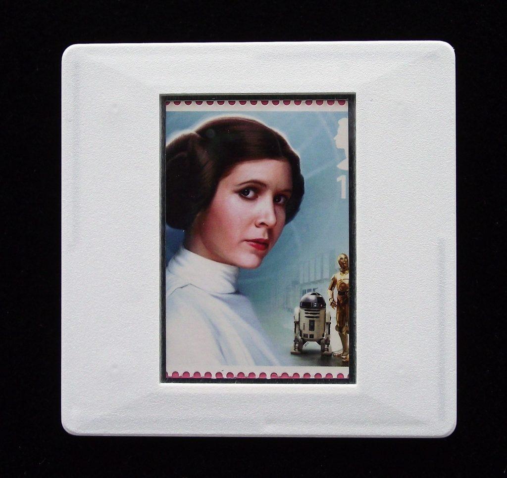 Princess Leia brooch - Star Wars badge