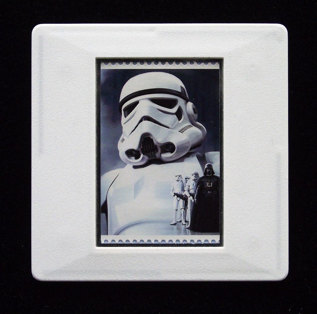 Stormtrooper brooch - Star Wars