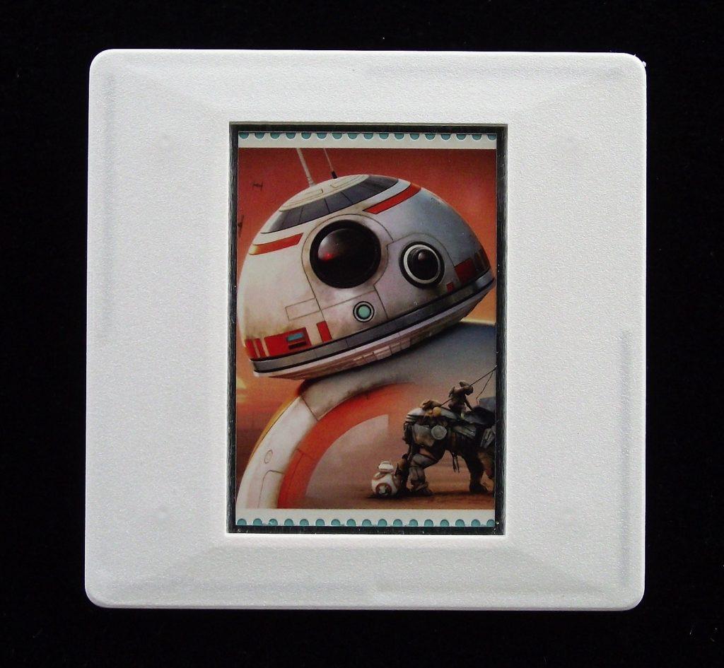 BB-8 droid robot badge
