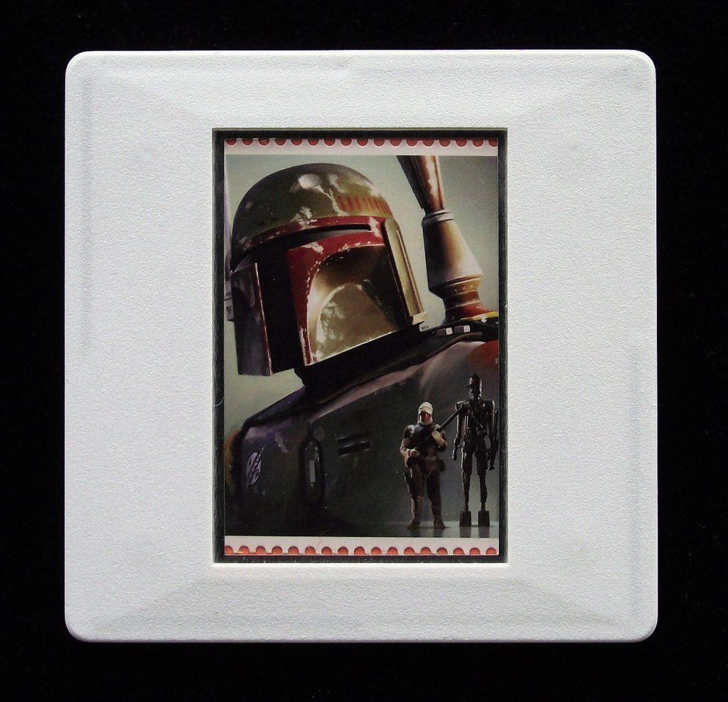 Boba Fett - Star Wars - Stamp Style badge