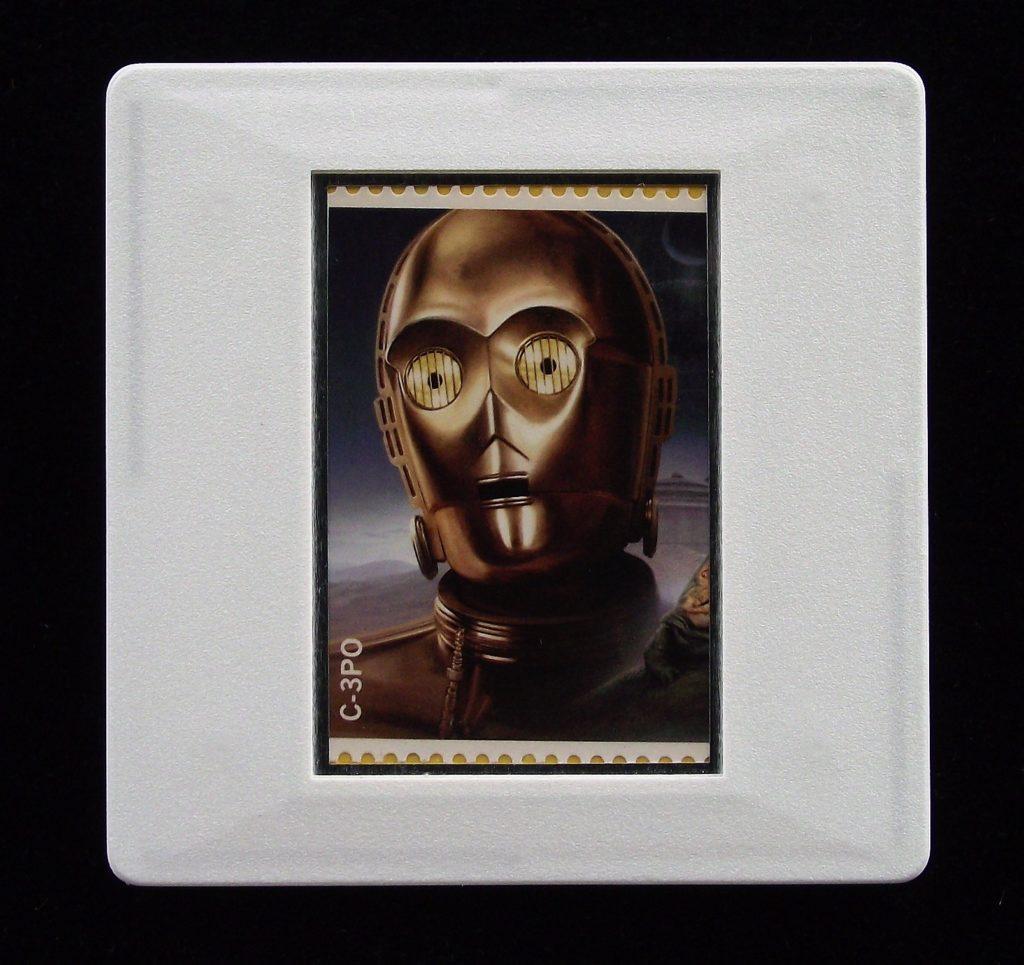 C-3PO - Star Wars - Stamp Style badge