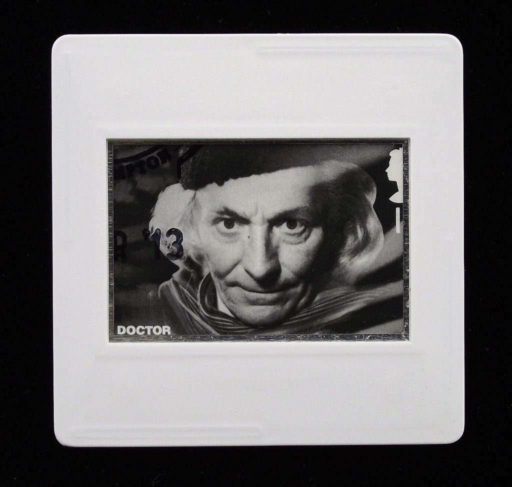 The First Doctor - William Hartnell - Doctor Who brooches and badges