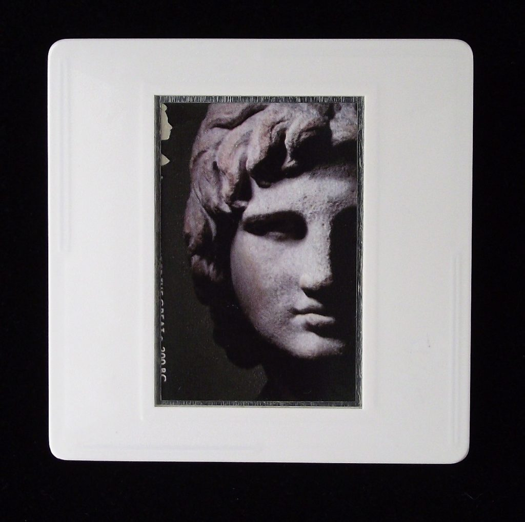 Alexander the Great, Greek c. 200BC - Stamp Style history brooches