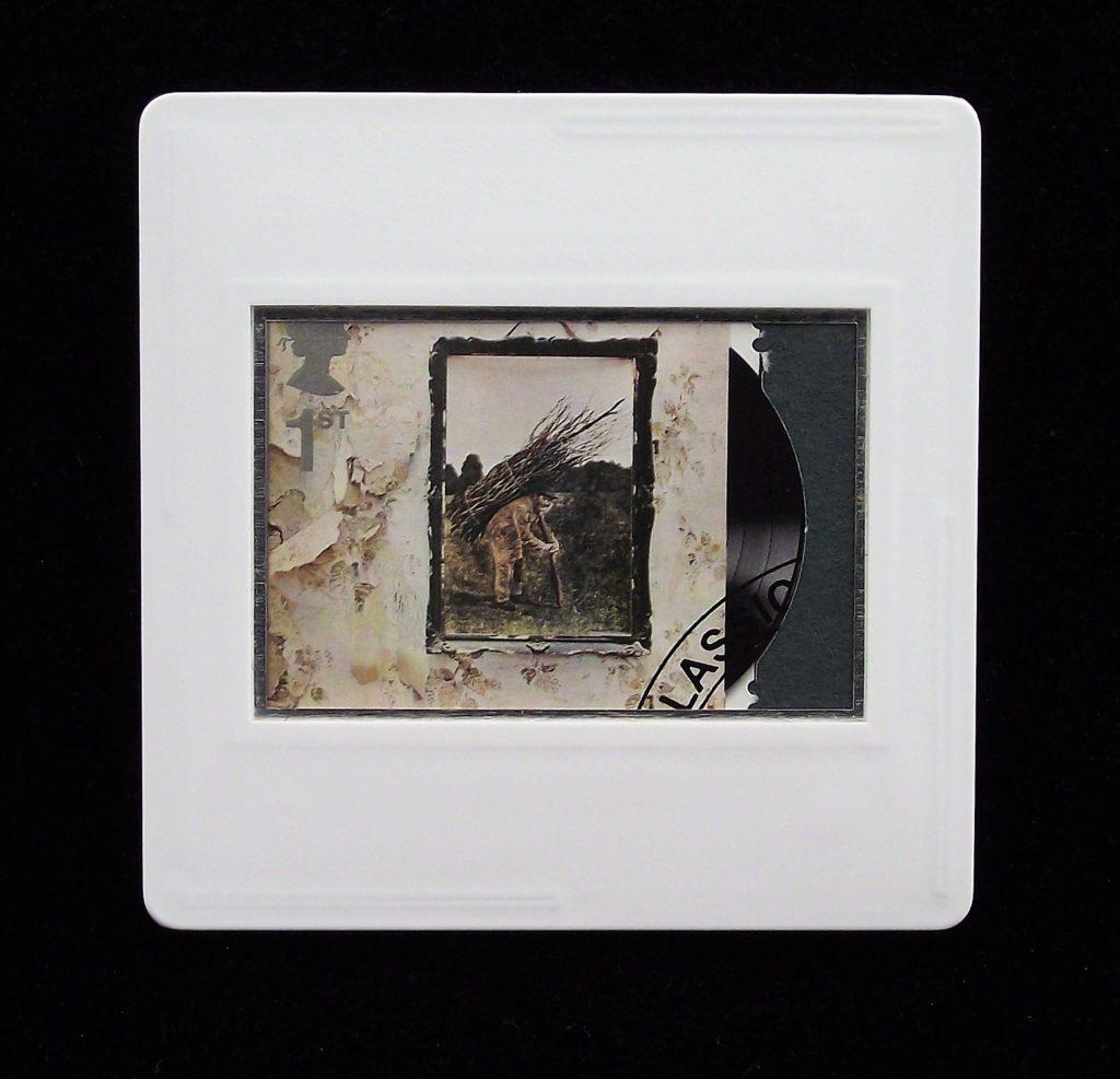 Led Zeppelin IV album cover brooch