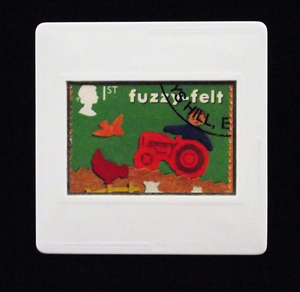 Fuzzy Felts - classic toys brooch