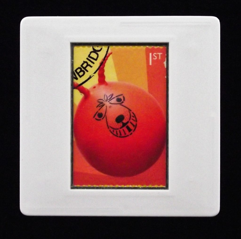 Space Hopper - classic toy brooch