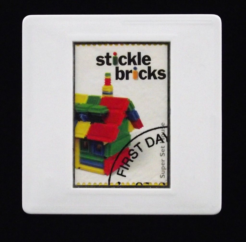 Stickle Bricks - classic toys brooches
