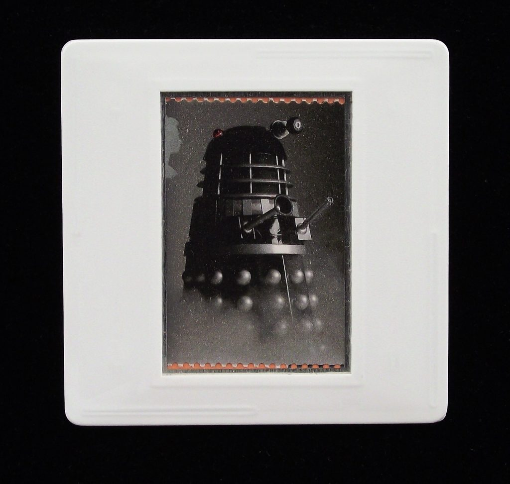 Dalek - Doctor Who brooches and badges - Stamp Style UK