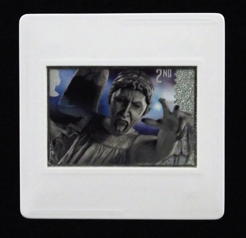 Weeping Angel - Dr Who badge