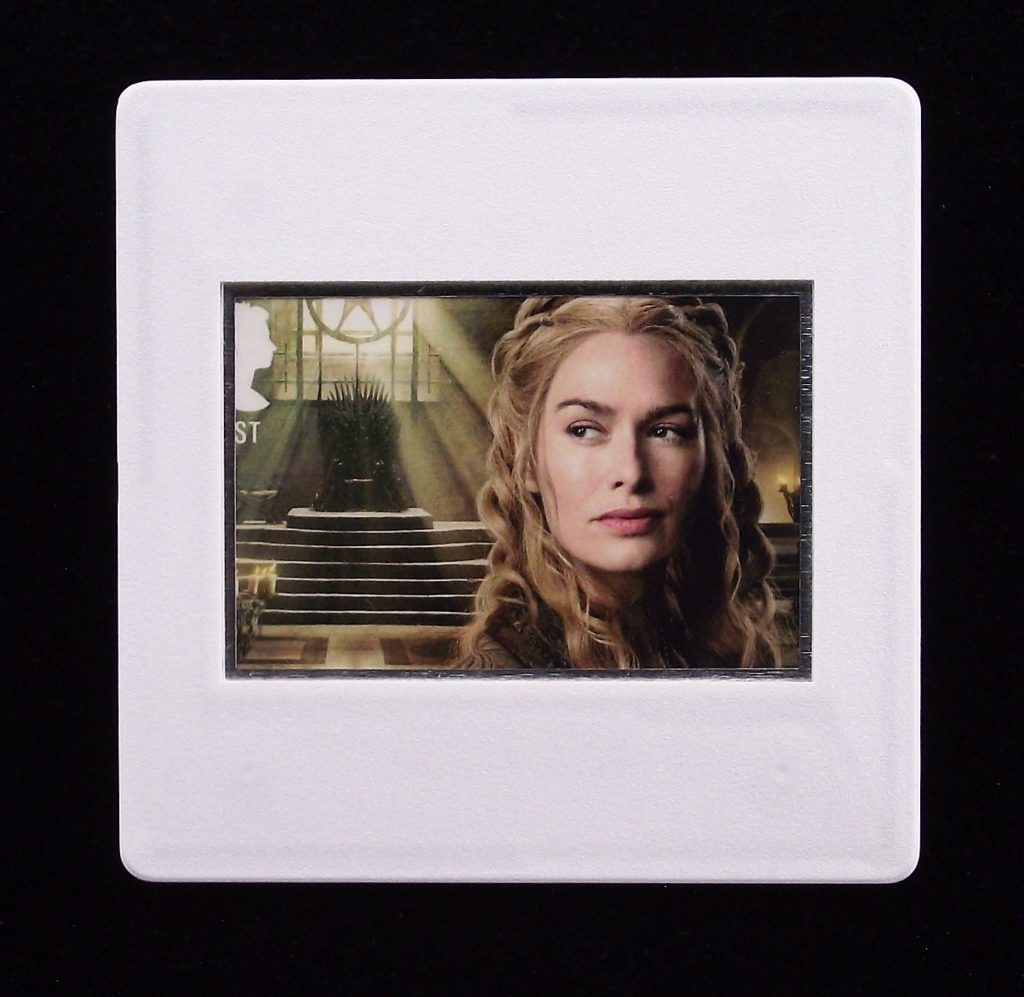 Game of Thrones - Cersei Lancaster badge - Stamp Style