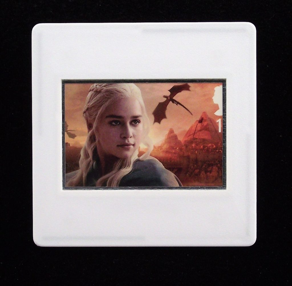 Game of Thrones - Daenerys Targaryen brooch - Stamp Style