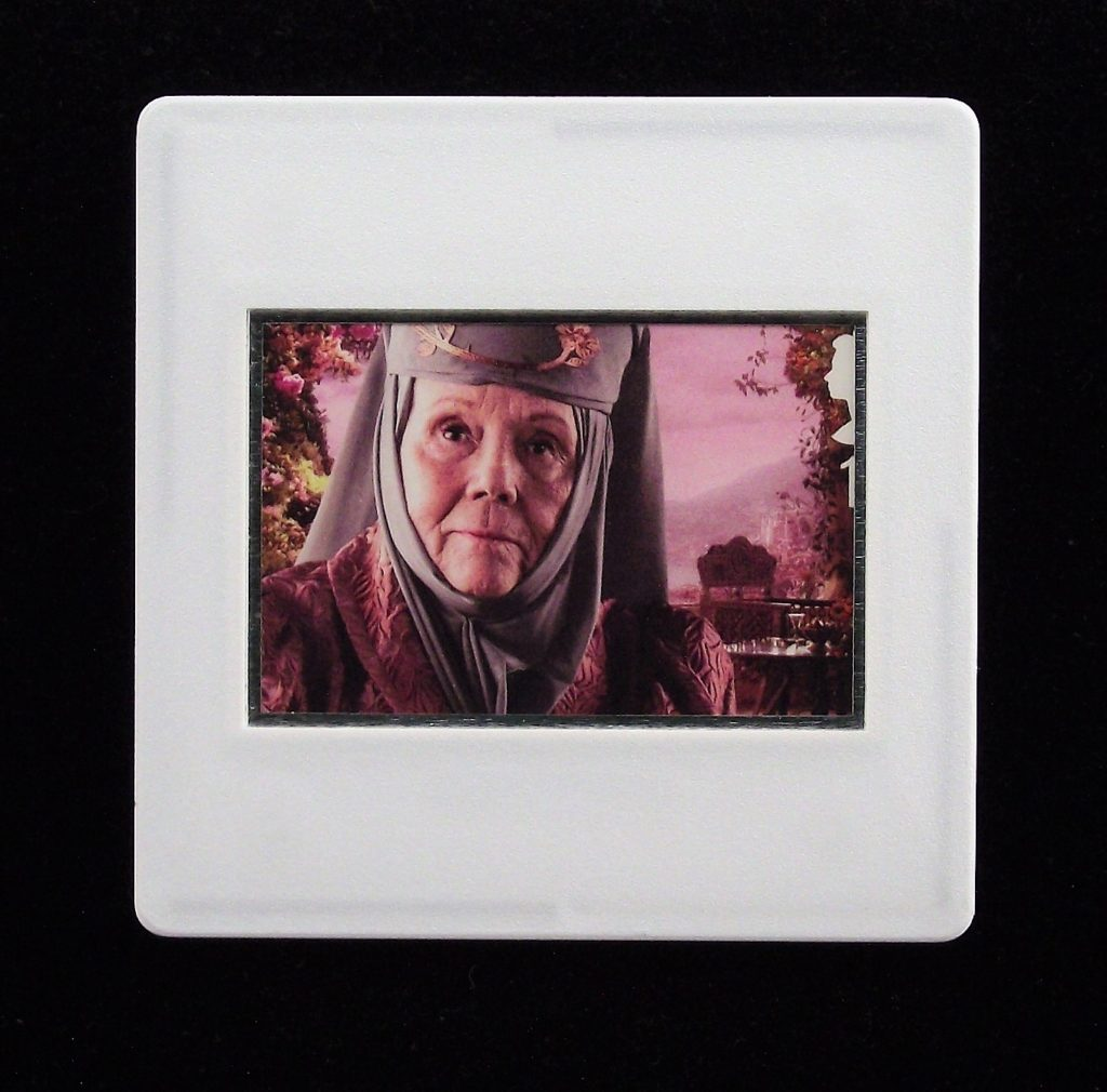 Game of Thrones - Olenna Tyrell - badge - Stamp Style