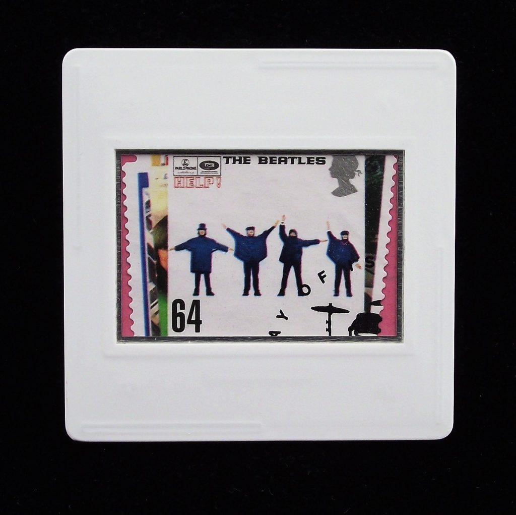 Beatles  brooch - Help album cover