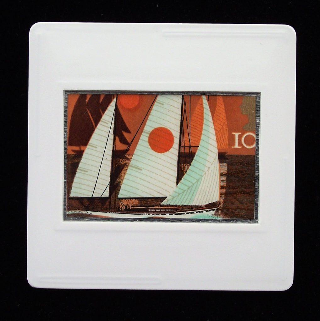Cruising yachts brooch