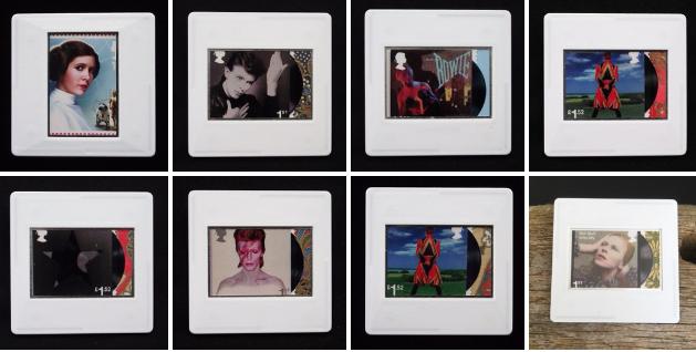stamp badges - Bowie - Star Wars etc