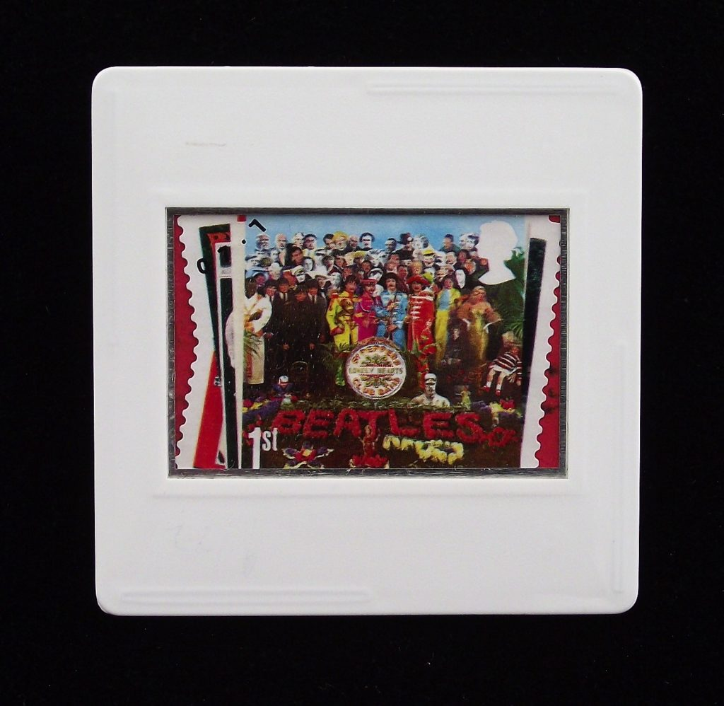 Sgt Peppers Album cover badge - The Beatles - unique music brooches
