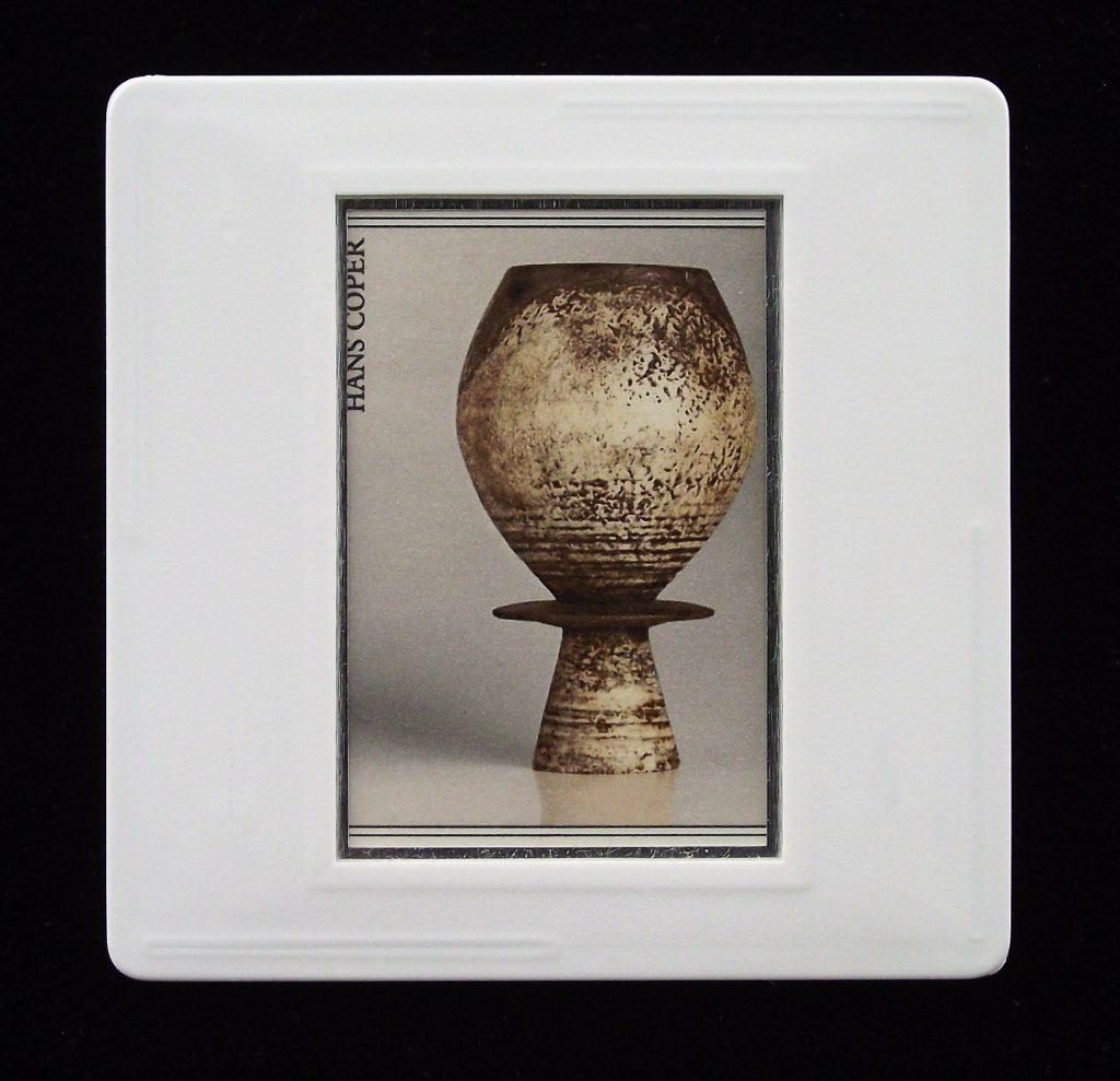 Pot by Hans Coper - 1987 - badge