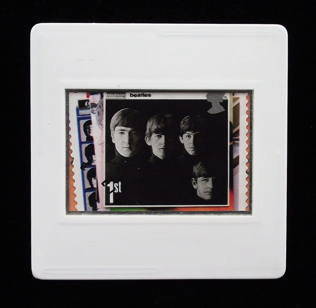 With The Beatles album cover brooch