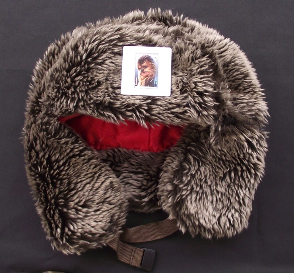 How to Wear a Brooch - Wearing a brooch on a hat - Chewbacca brooch on faux hat