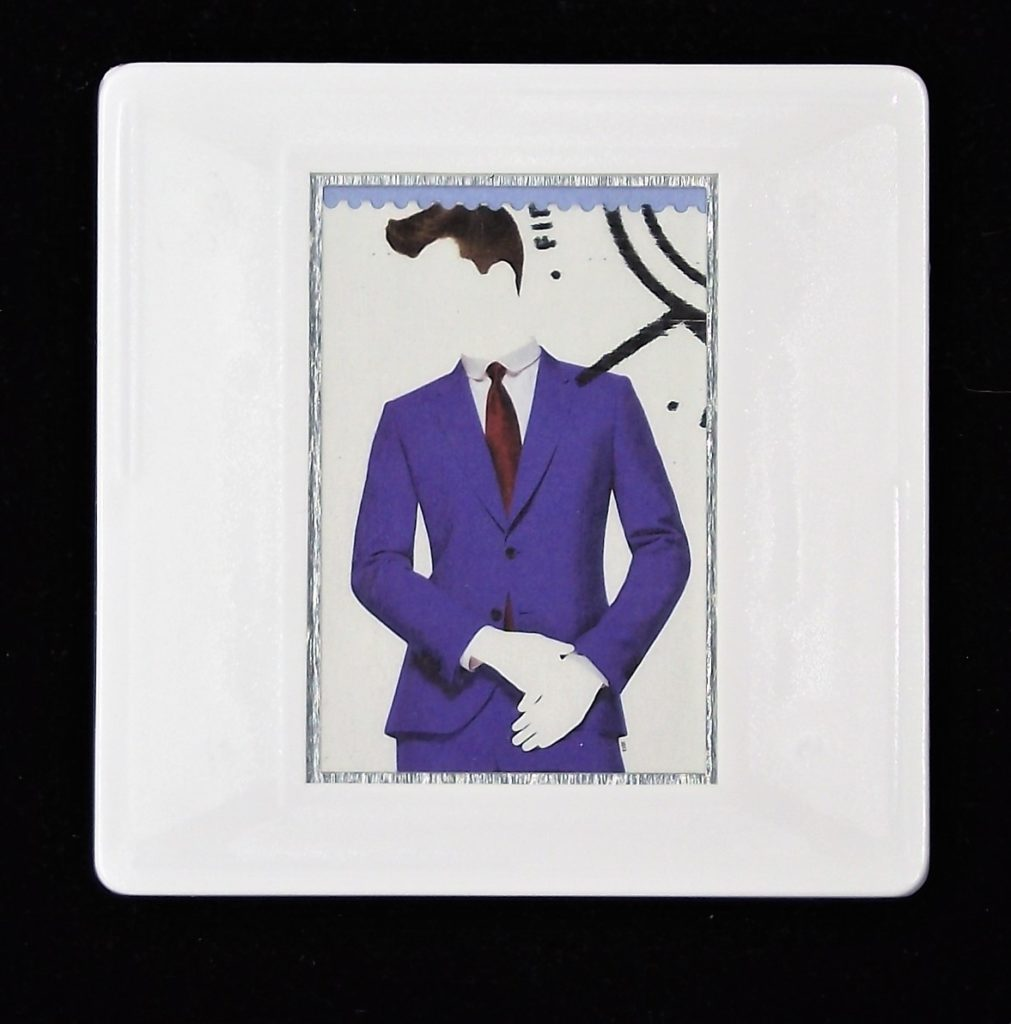 Paul Smith Suit fashion brooch