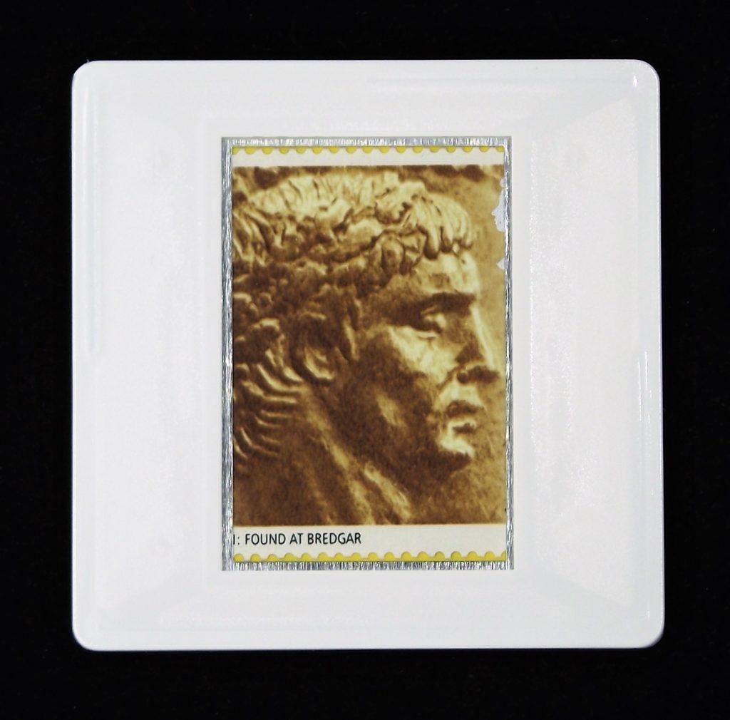 Emperor Claudius - Roman Britain brooch
