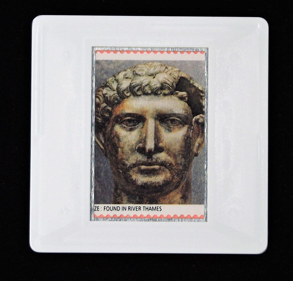 Emperor Hadrian brooch - Roman Britain