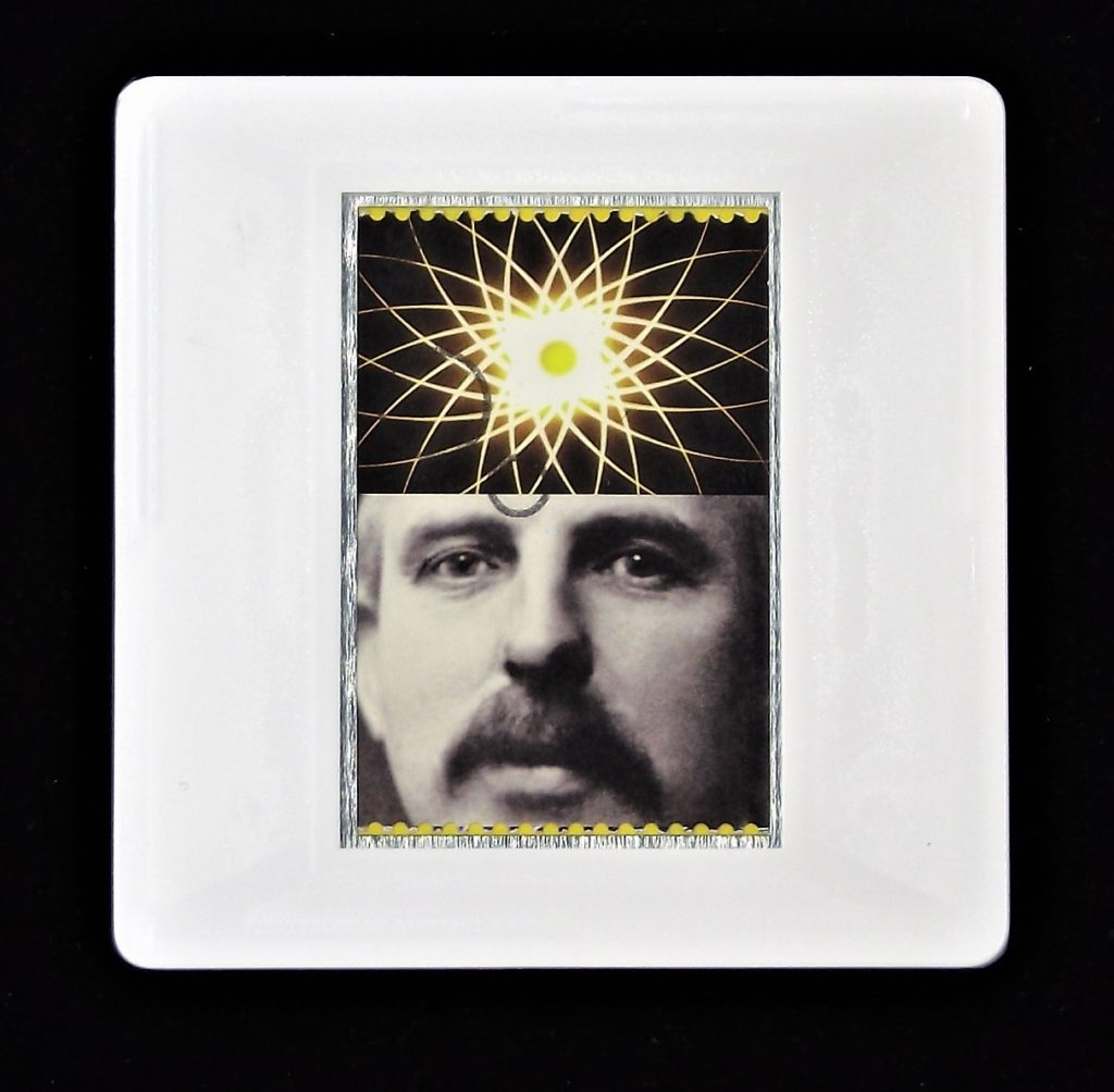 Ernest Rutherford brooch - Royal Society