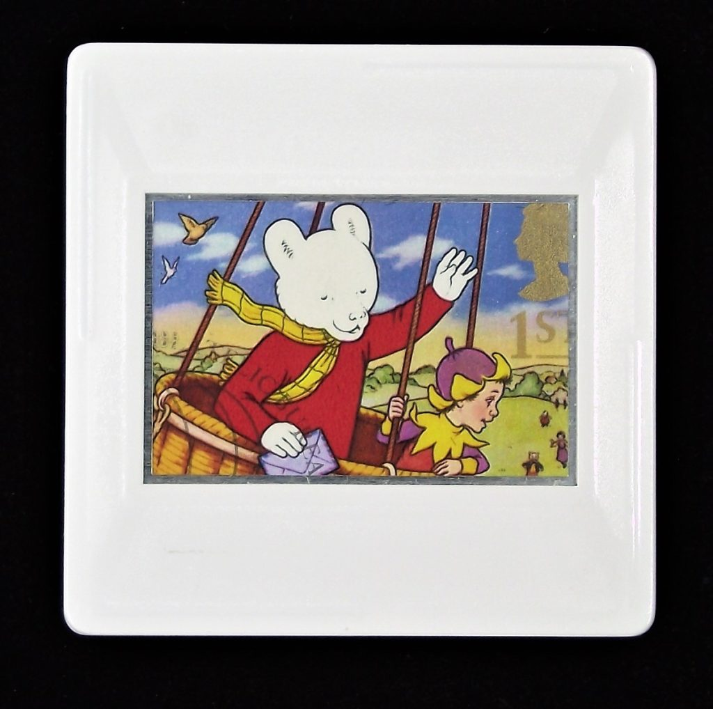 Rupert Bear brooch
