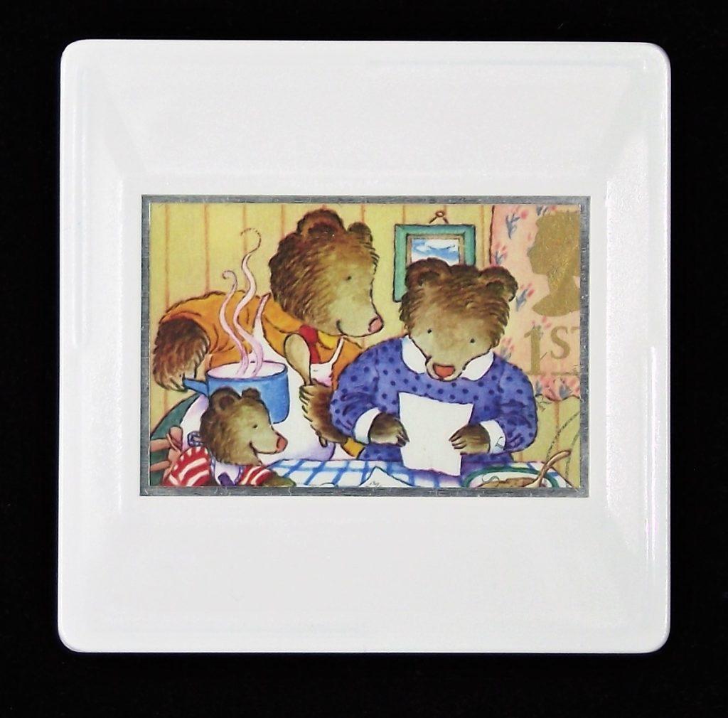 The Three Bears brooch