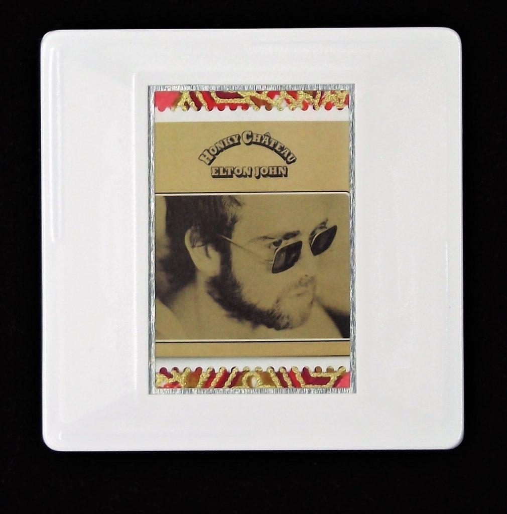 Elton John Honky Château album cover brooch