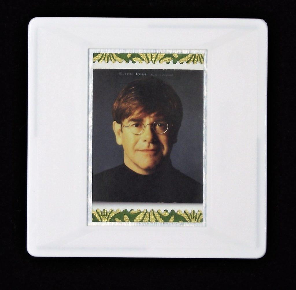 Elton John - Made in England brooch