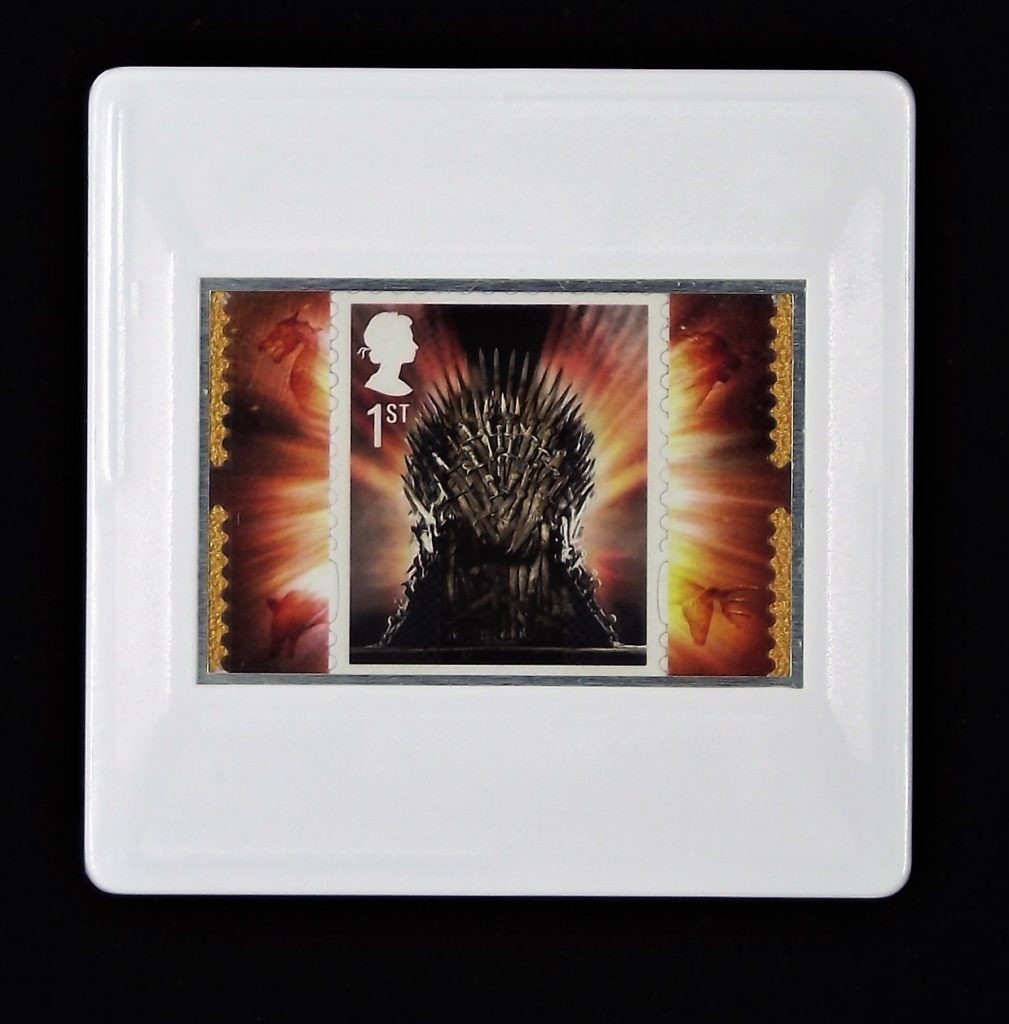 Game of Thrones Iron Throne brooch