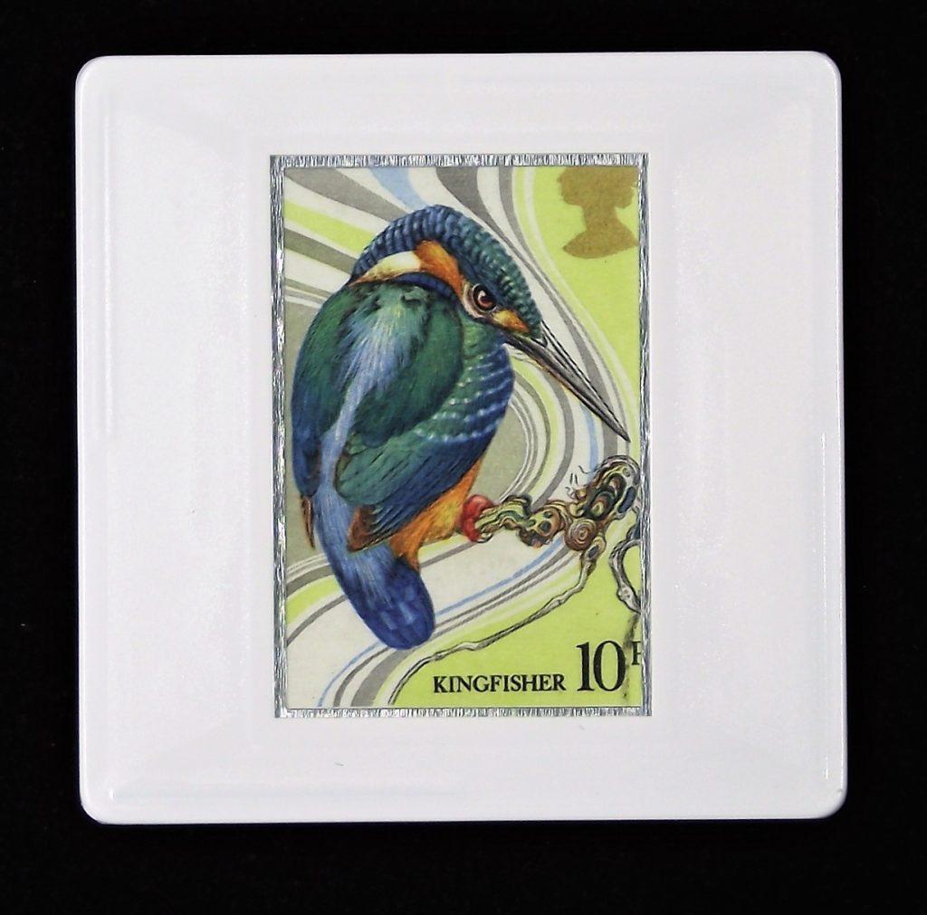 Kingfisher brooch  - Common kingfisher