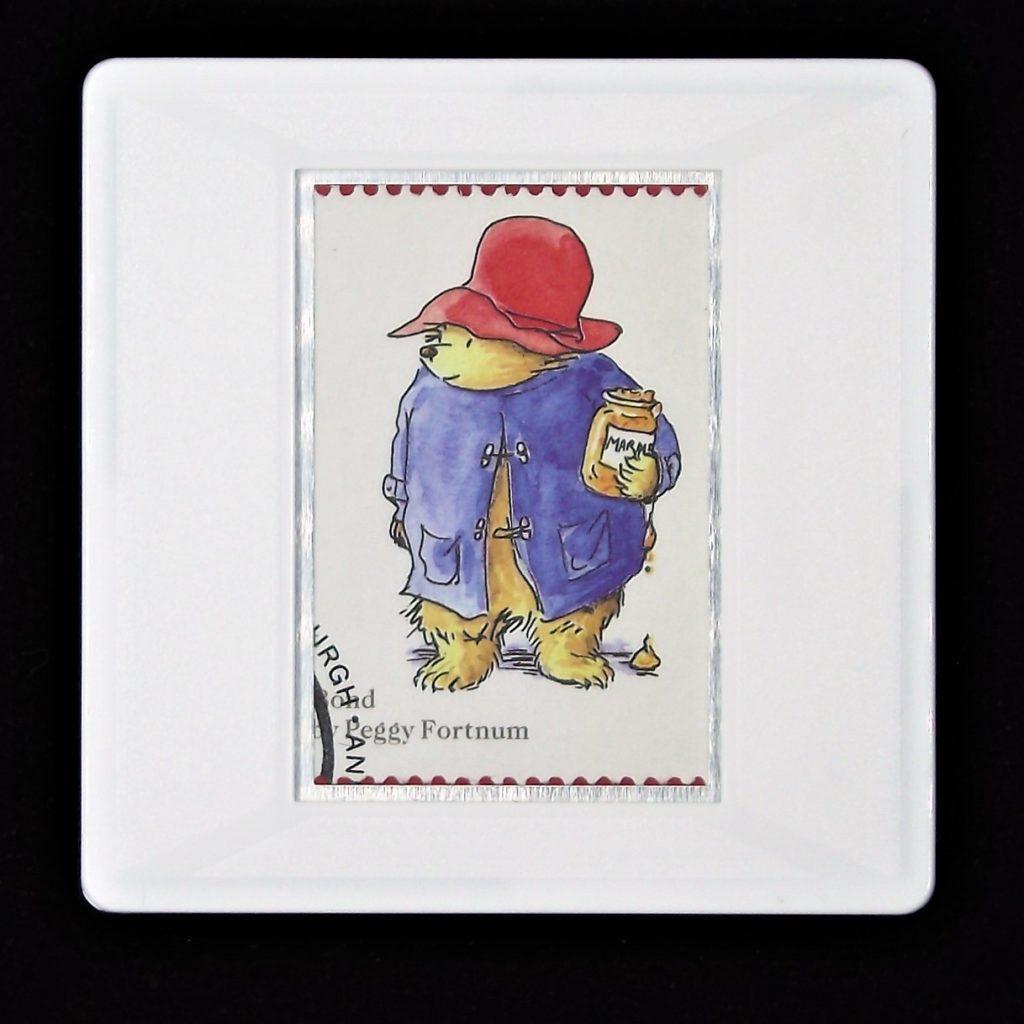 Michael Bond's 'Paddington Bear'  brooch - illustration by Peggy Fortnum