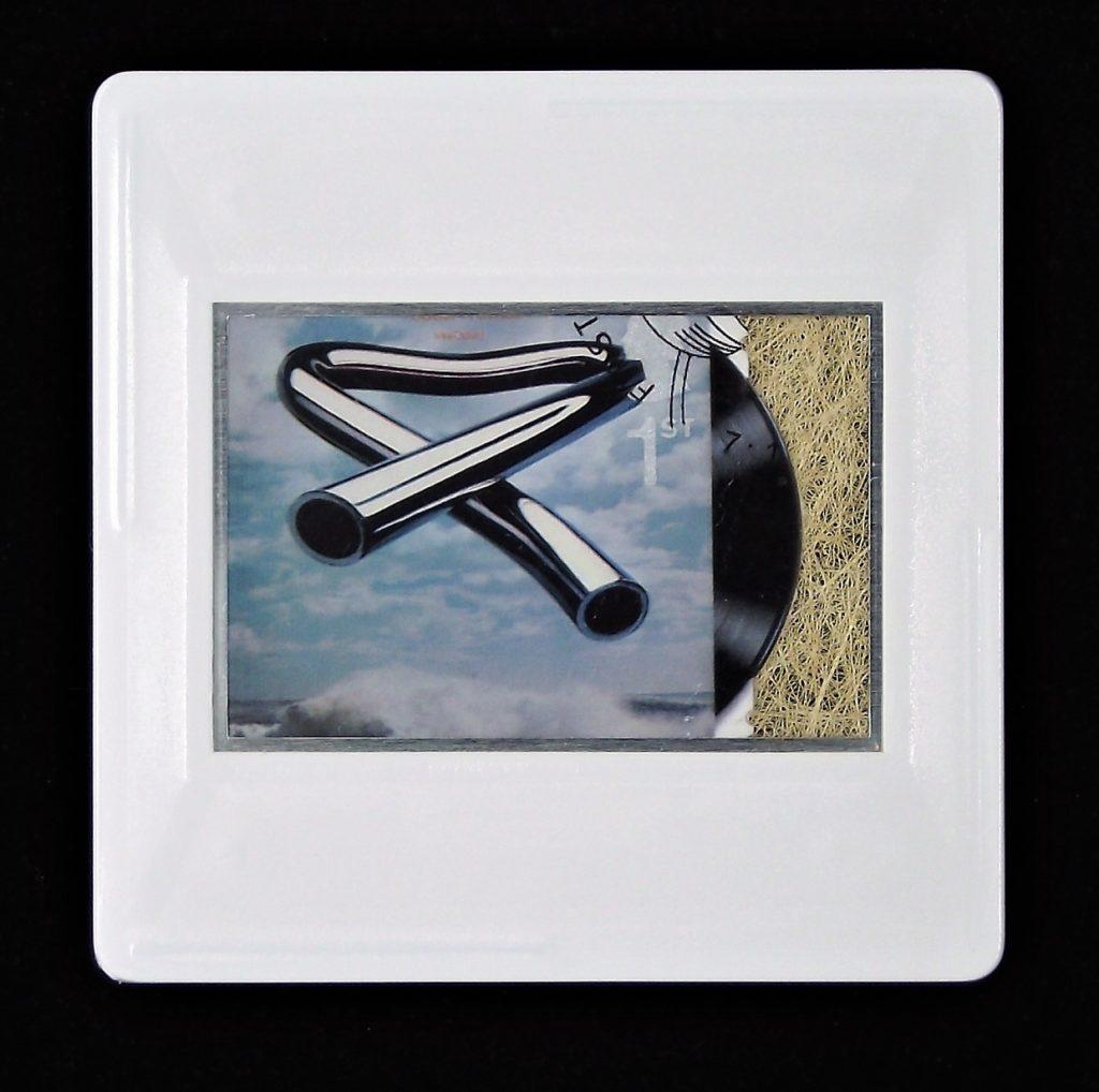 Mike Oldfield - Tubular Bells brooch