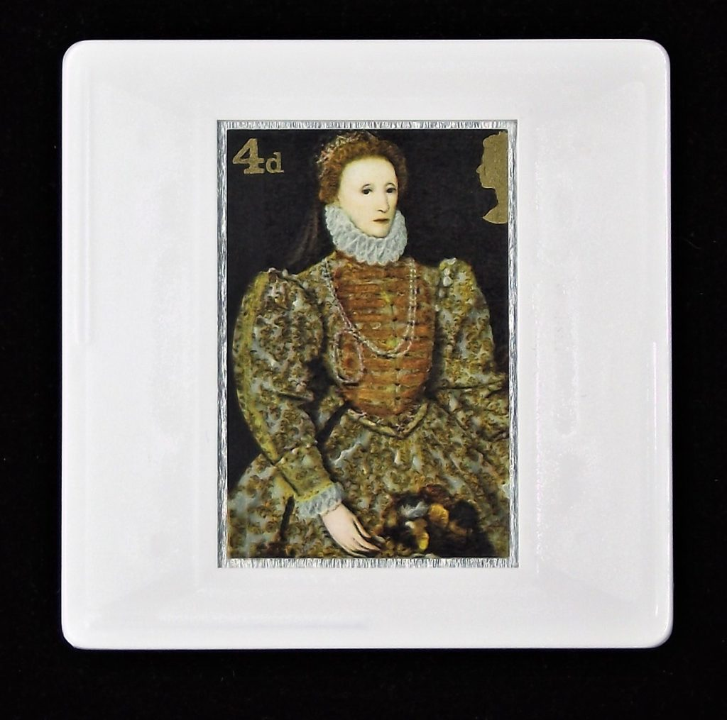 Queen Elizabeth I brooch